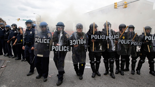 Baltimore Police Ambush a Bunch of Kids