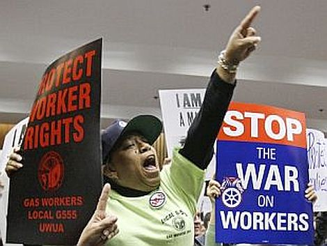 Too Little Too Late?; The Fight for Organized Labor in America